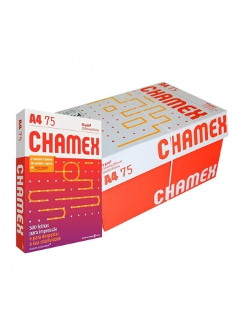 PAPEL CHAMEX OFFICE A4 75 10X500