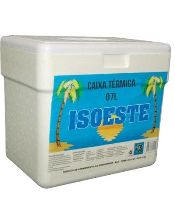 ISOPOR CAIXA TERMICA 07L - ISOESTE